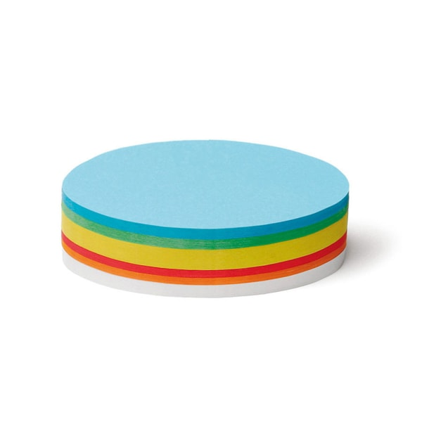 Pin-It Cards, oval, 250 sheets, assorted
