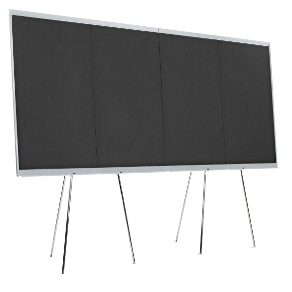 LW-X GraphicWall, 4 Board Elements/Set – black foam board