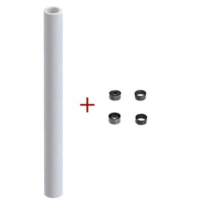 White Pinboard Paper Roll, 25 m / 82 ft.